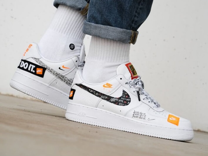 Fake Nike Air Force 1 Low '07 PRM 'Just Do It'