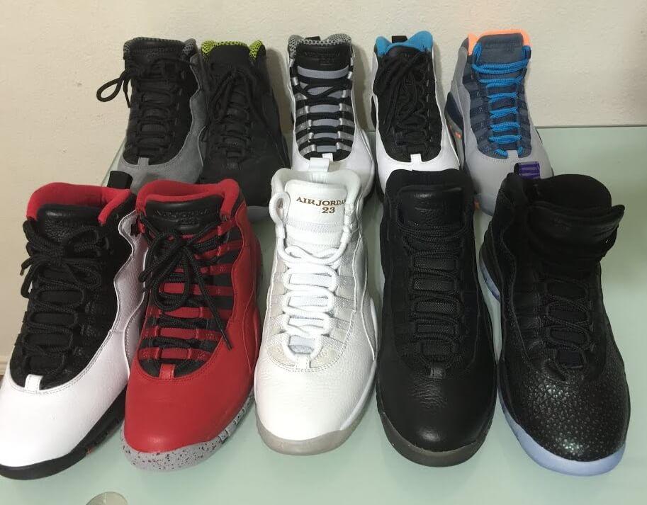 fake Nike Air Jordan 10